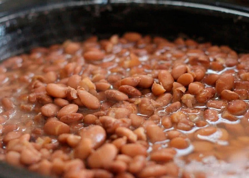 Beans in the Asturian style